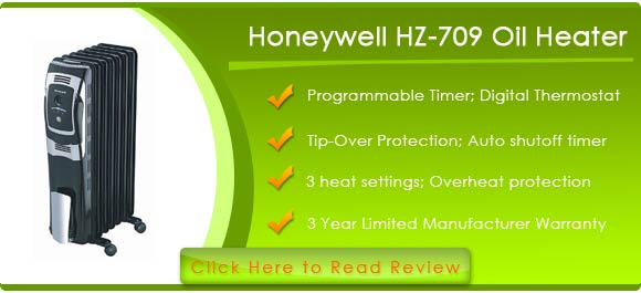 O COMMENTS AT QUOT;HONEYWELL HZ-709 OIL-FILLED RADIATOR HEATER REVIEWQUOT;